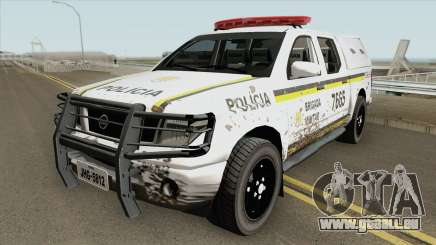 Nissan Frontier Brazilian Police (Dirty) für GTA San Andreas