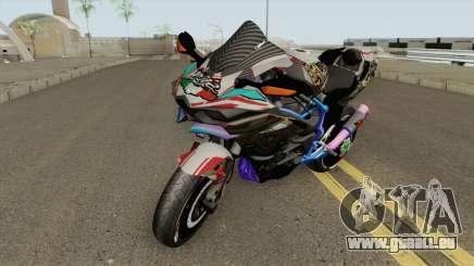 Kawasaki Ninja H2R pour GTA San Andreas