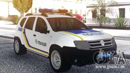 Renault Duster De La Police De L'Ukraine pour GTA San Andreas