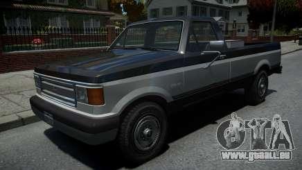 Vapid Sadler Retro Pick-Up Truck v1.2 für GTA 4