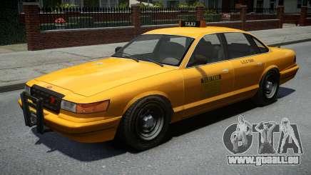 Vapid Stanier Classic Taxi für GTA 4