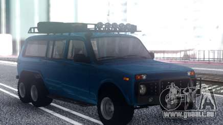 VAZ Niva 6x6 Offroad pour GTA San Andreas