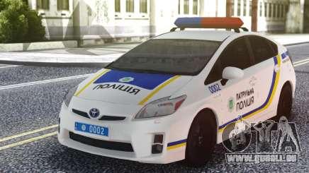 Toyota Prius Patrouille De La Police De L'Ukraine pour GTA San Andreas