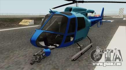 Weazel News Maverick (GTA V) für GTA San Andreas