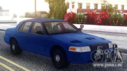 Ford Crown Victoria Classic Blue pour GTA San Andreas