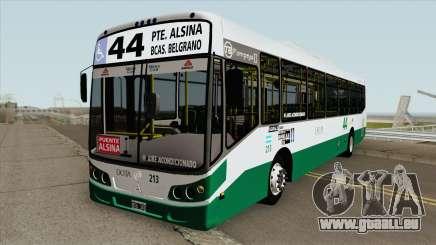 Linea 44 Todobus Pompeya II Agrale MT17 Interno pour GTA San Andreas