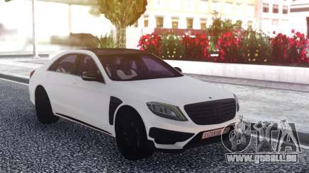 Mercedes-Benz B850 W222 White für GTA San Andreas