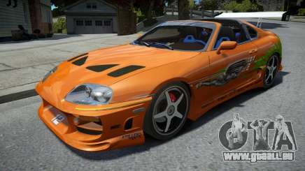 Toyota Supra Fast and the Furious pour GTA 4