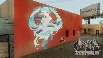 Graffiti De Hatsune Miku für GTA San Andreas