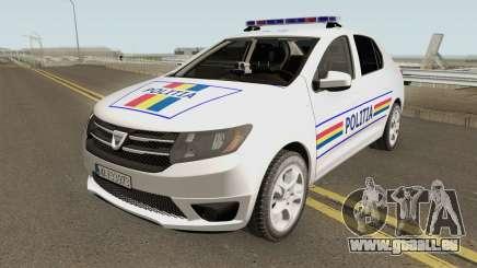 Dacia Logan 2 2016 Politia Romana für GTA San Andreas