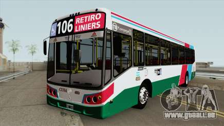 Linea 106 Todobus Pompeya II Agrale MT17 Interno pour GTA San Andreas