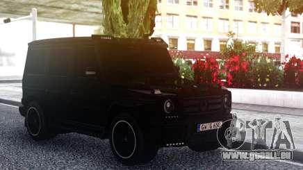 Mercedes-Benz G55 AMG BLACK pour GTA San Andreas
