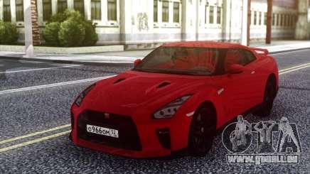 Nissan GT-R R35 Red für GTA San Andreas