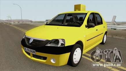 Dacia Logan Taxiul Lui Rata 2004 für GTA San Andreas