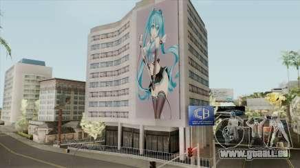 Graffiti Hatsune Miku für GTA San Andreas