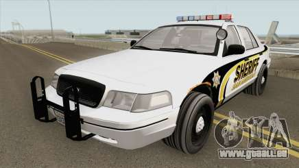 Ford Crown Victoria SACSO 2007 pour GTA San Andreas