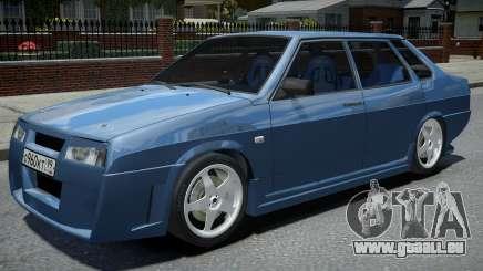 VAZ 21099 Réglage de la Lyuber pour GTA 4