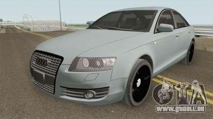Audi A6 C6 Black Edition pour GTA San Andreas