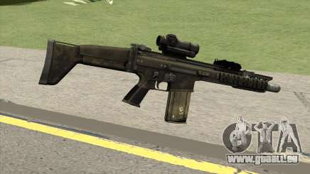 Contract Wars SCAR-H pour GTA San Andreas