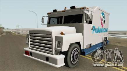 Camion Panamericano (Securicar) SA Style für GTA San Andreas