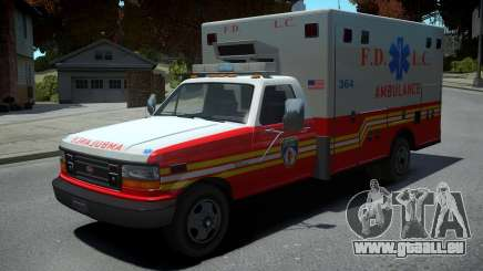 Vapid Ambulance Retro pour GTA 4