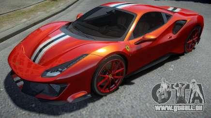Ferrari 488 Pista 2019 pour GTA 4