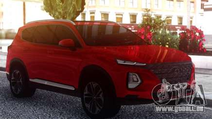 Hyundai Santa Fe FIX RED pour GTA San Andreas
