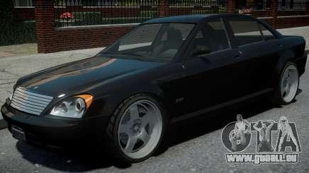 Schafter 1Gen Grey Series pour GTA 4