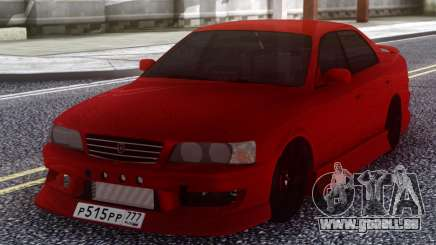 Toyota Chaser JZX 100 Red pour GTA San Andreas