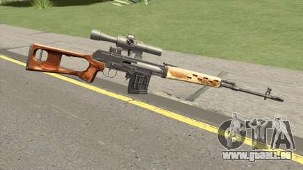 GDCW SVD Dragunov pour GTA San Andreas