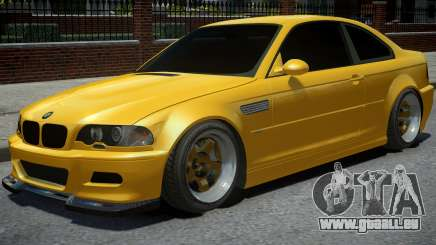 BMW M3 E46 Yellow für GTA 4