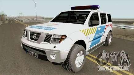 Nissan Pathfinder Magyar Rendorseg (Feher) pour GTA San Andreas