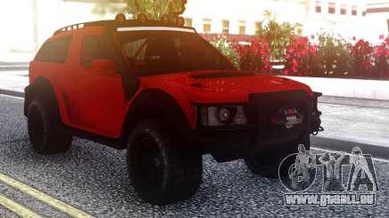 Range Rover Evoque pour GTA San Andreas
