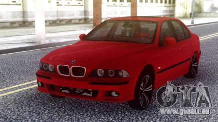 BMW E39 Stock Red pour GTA San Andreas