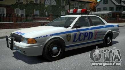 Vapid Police Cruiser v1.2 pour GTA 4