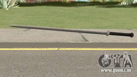 Silver Katana (Dynasty Han) pour GTA San Andreas