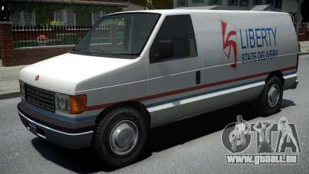 Vapid Steed 1500 Cargo Van pour GTA 4