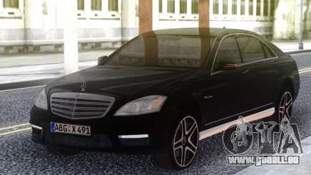 Mercedes-Benz S65 AMG 2012 Black für GTA San Andreas