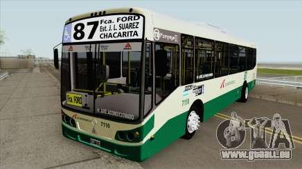 Linea 87 Todobus Pompeya II Agrale MT15 Interno pour GTA San Andreas