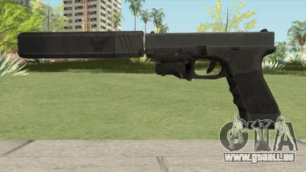 Glock 17 Laser Silenced für GTA San Andreas