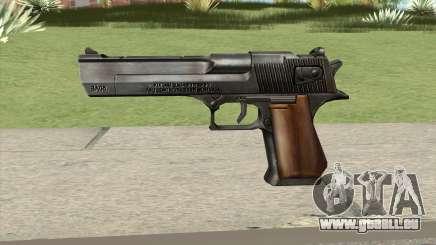 Desert Eagle Black GTA IV für GTA San Andreas