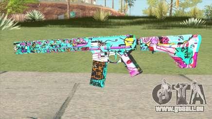 M4 (Cartoon Skin) pour GTA San Andreas