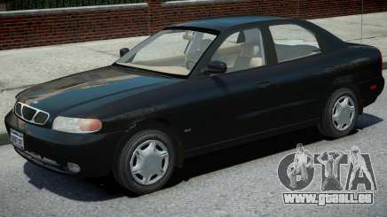 Daewoo Nubira I Sedan pour GTA 4