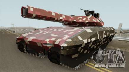 Khanjali With Digital Camouflage Livery V2 pour GTA San Andreas