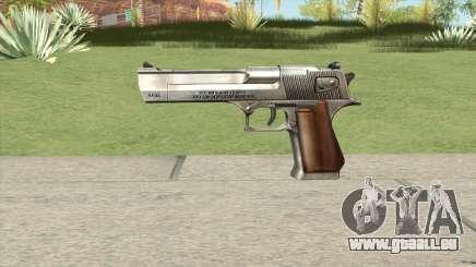 Desert Eagle Chrome GTA IV für GTA San Andreas