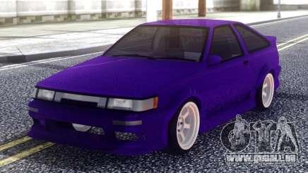 Toyota AE86 Sport pour GTA San Andreas