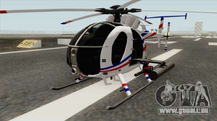 AH-6J Little Bird GBS News Chopper pour GTA San Andreas