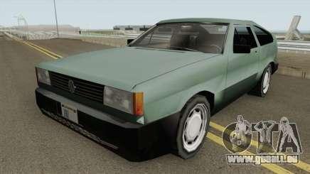 Volkswagen Gol GTi 1990 Beta 2 TCGTABR für GTA San Andreas