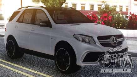 Mercedes-Benz GLE 63s FIX Gray pour GTA San Andreas