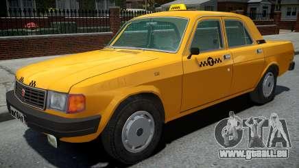 GAZ-31029 Taxi Jaune pour GTA 4